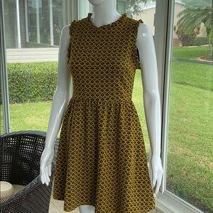 Xhilaration- Yellow and Black Dress